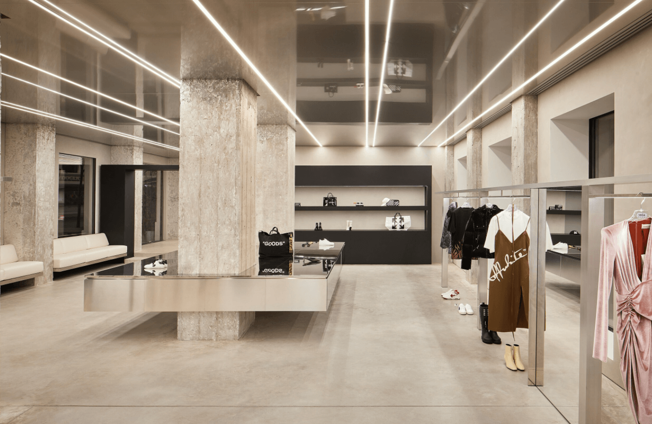 Farfetch store experiential retail