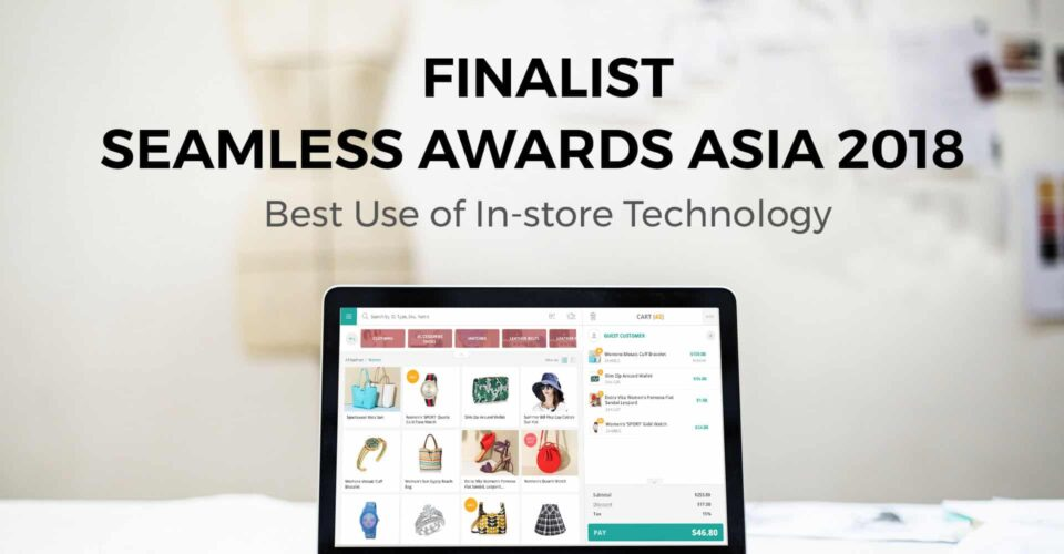 ConnectPOS is the finalist of Seamless Asia Awards 2018!