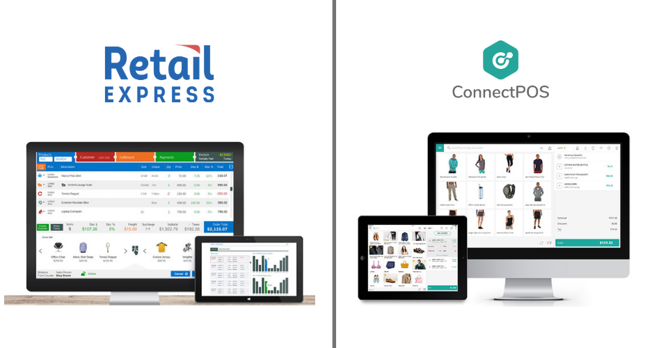 Retail Express vs ConnectPOS