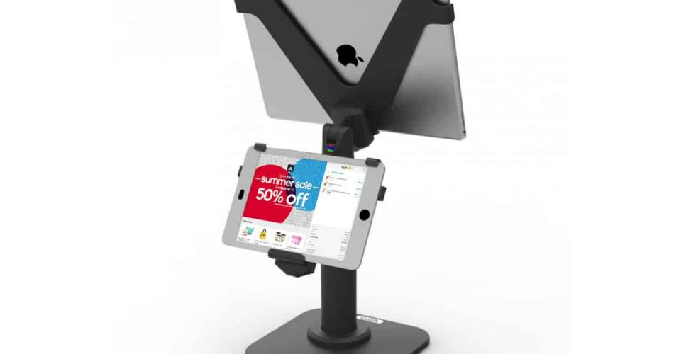 The world's first wireless POS customer monitor