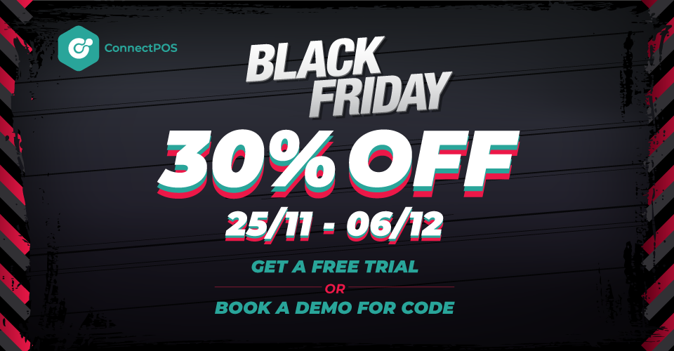 connectpos pos magento shopify black friday