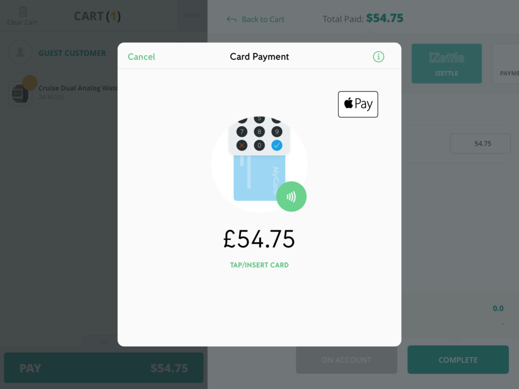 Making Sales with iZettle