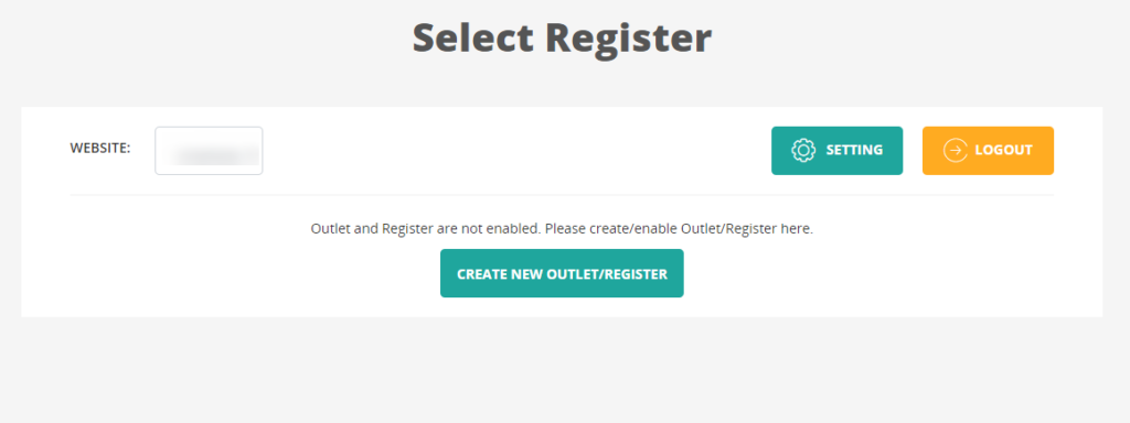you can start creating new outlet/register, syncing products/customer, and creating orders for your stores