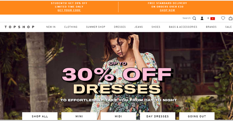 TOPSHOP is on their way to making Omnichannel as seamless as possible
