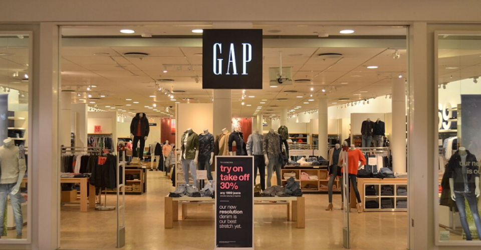 GAP is bridging the gap between the digital world with its brick-and-mortar stores
