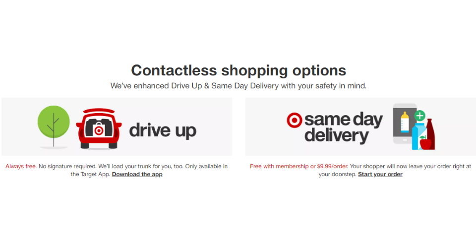 Target has been investing a big amount of money on Omnichannel