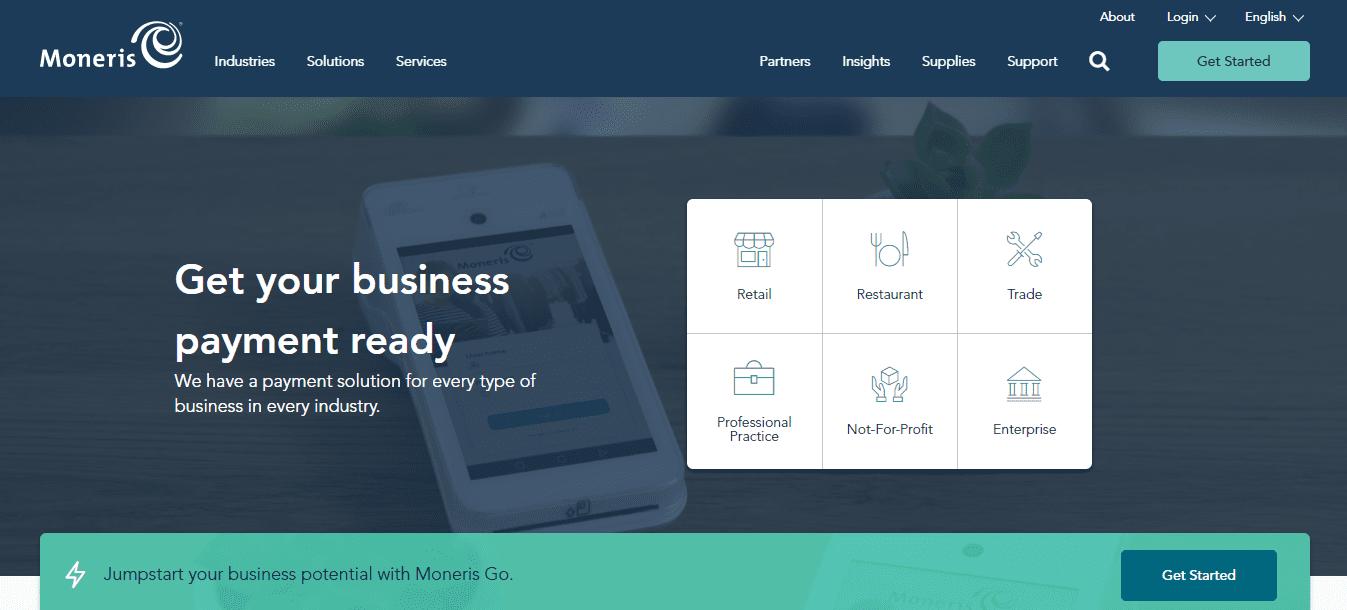 Moneris business