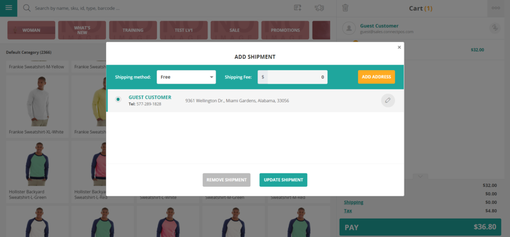 how to use magento pos system for omnichannel retail: shipping