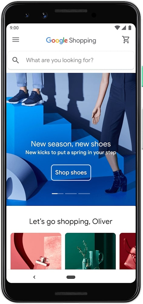 9 retail business ideas:  Google shopping
