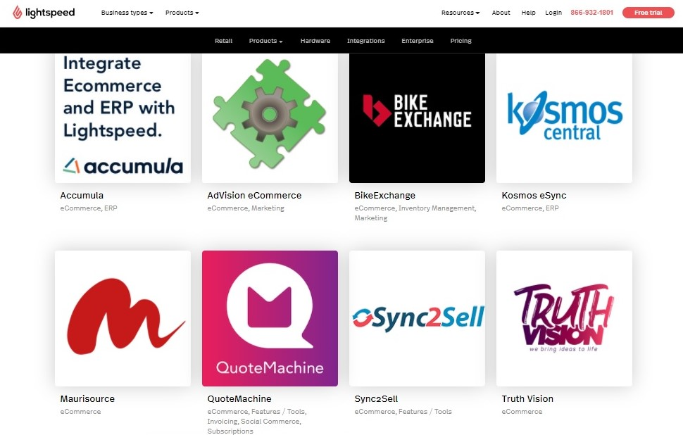 Lightspeed and e-commerce platform integration