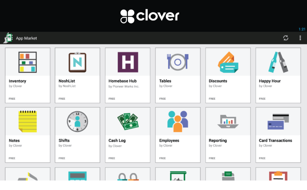 Real-time inventory management on Clover POS's interface
