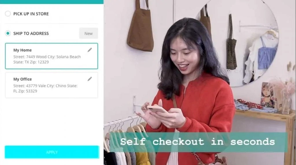 Self check-out in PWA consumer app by ConnectPOS