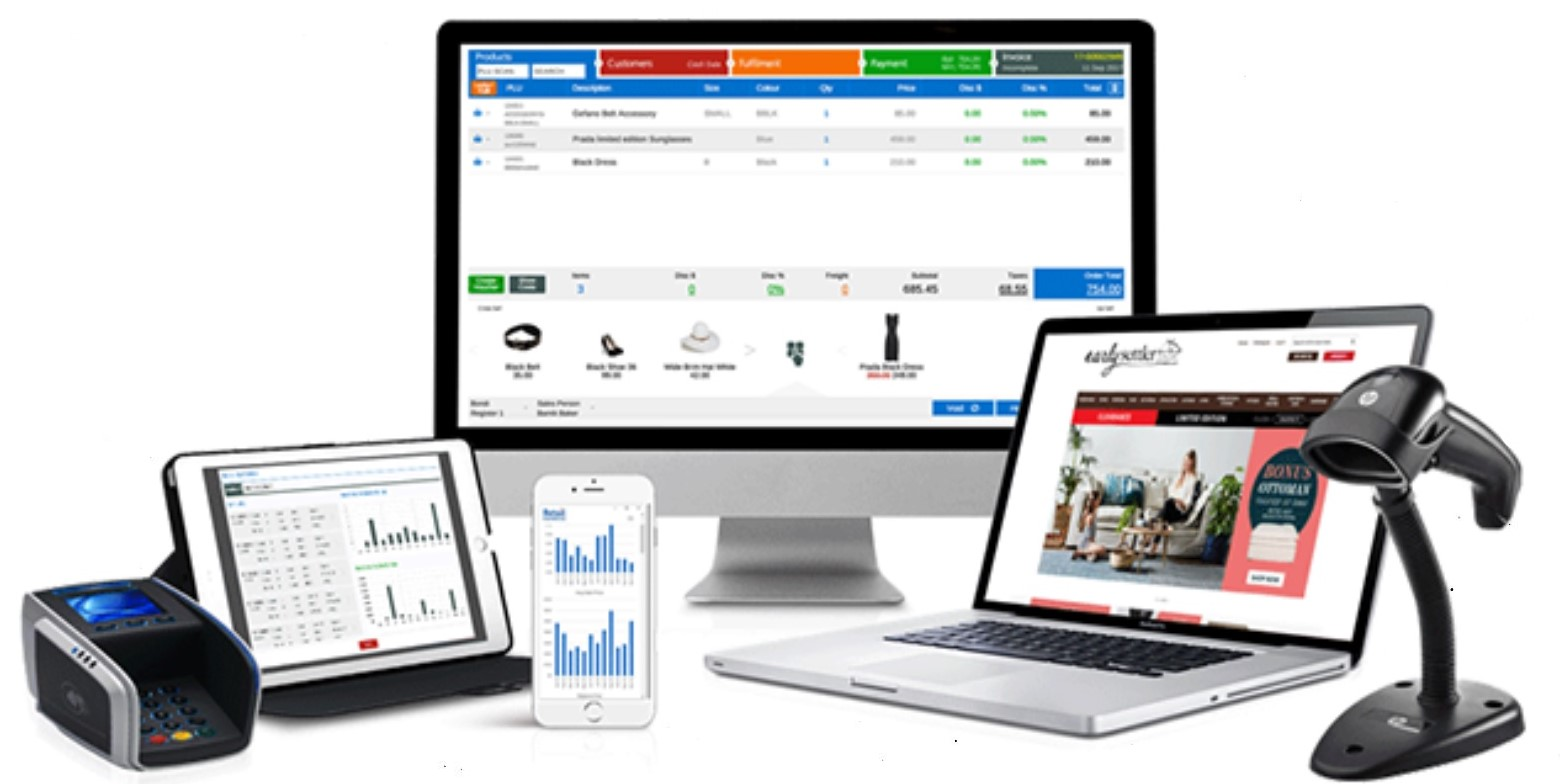 Retail Express POS functions well on PC, Mac, iPad, and Windows-based tablets