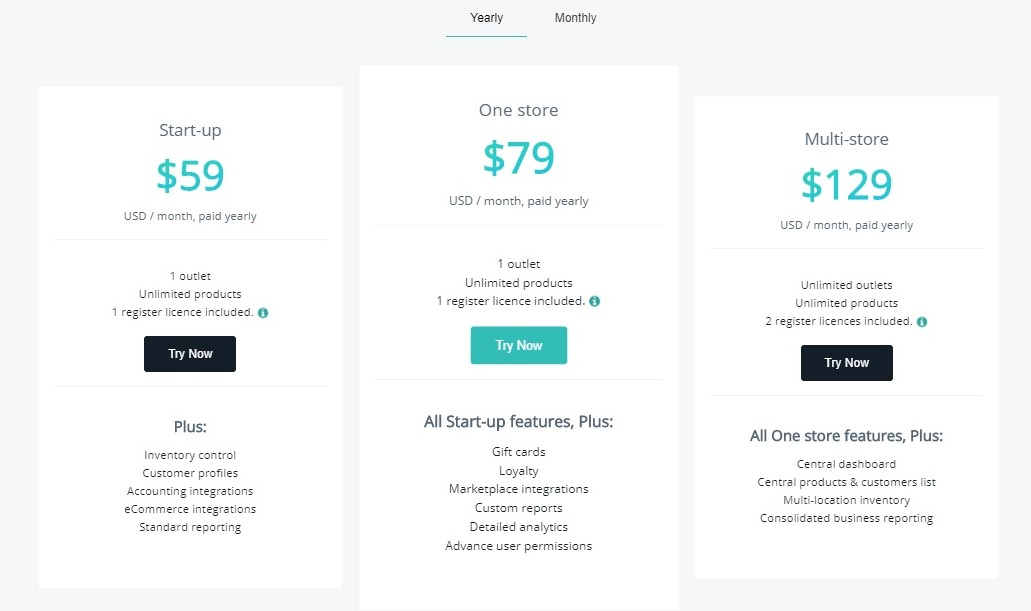 Hike POS pricing plans