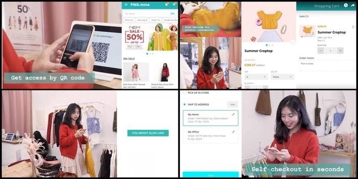 ConnectPOS PWA consumer app