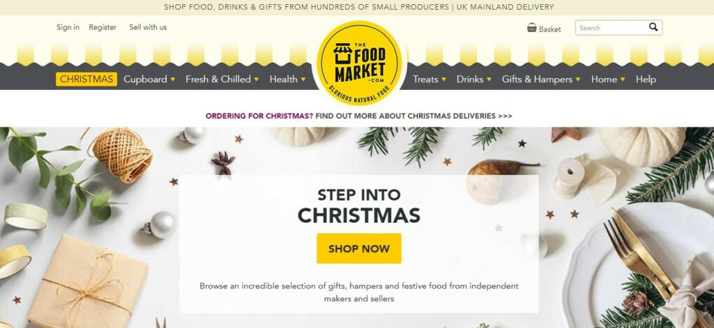 Holiday operation hacks for food & drink retailers: consider selling on online marketplaces