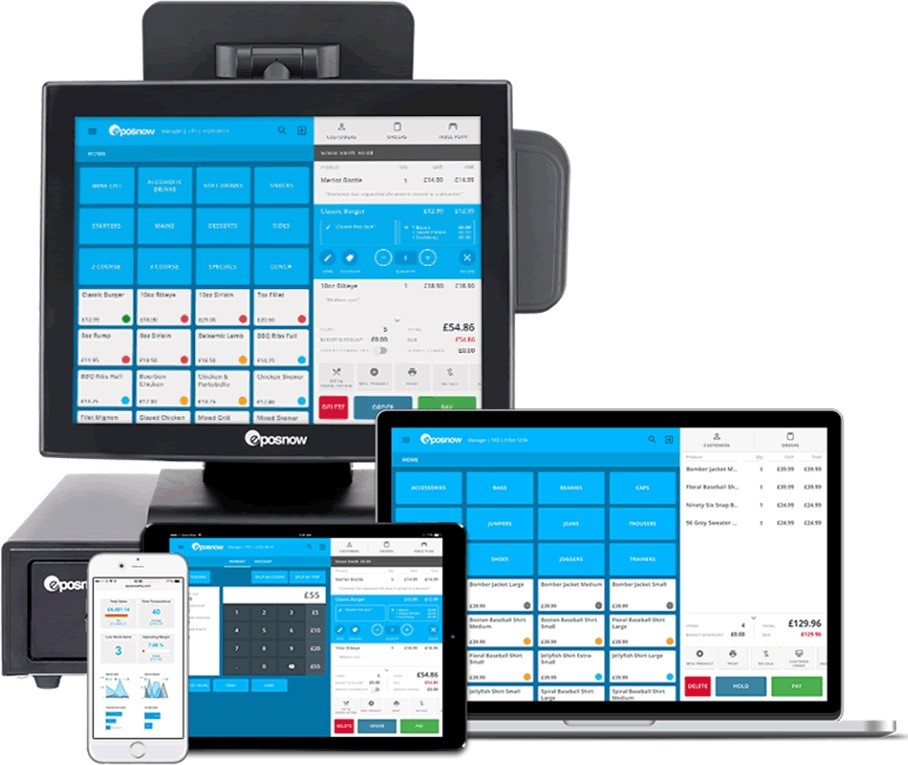 Epos Now has the compatibility with multiple devices