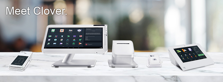 Clover POS has full compatibility with multiple devices