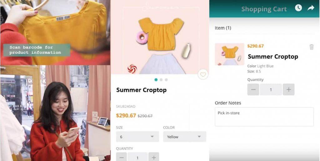 Mobile consumer app