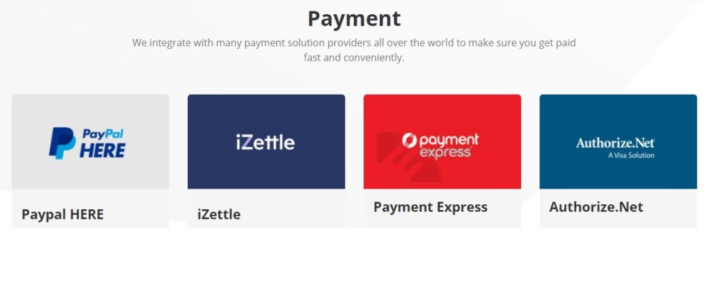 ConnectPOS payment integrations