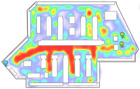 POS Solution For Toys, Hobbies & Gifts Retail: Heat map
