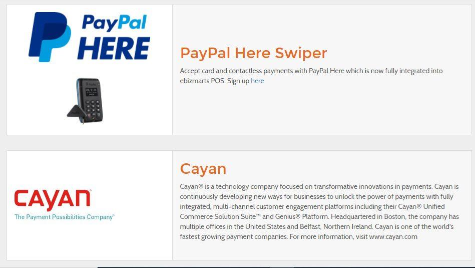 Ebizmarts payment integrations