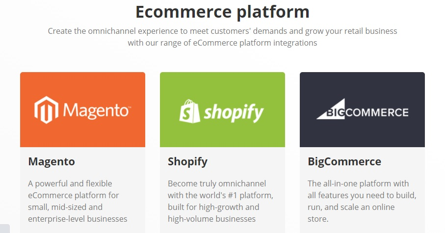 ConnectPOS eCommerce integrations