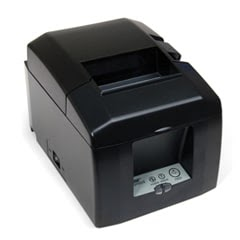 A receipt printer in POS