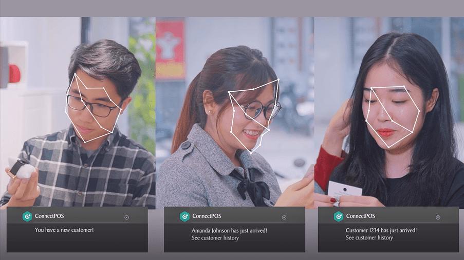 AI facial recognition in ConnectPOS