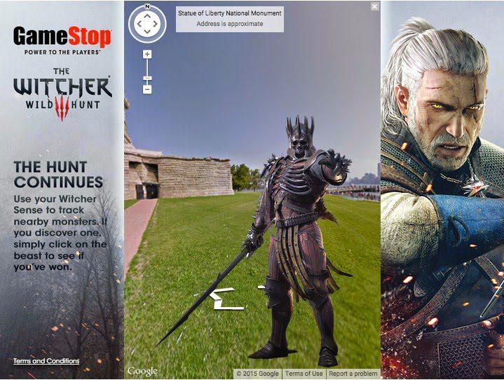 "Gaming retailer GameStop innovative desktop ""Monster Hunt"" promotion"