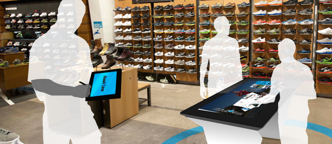 POS Solution For Sports & Outdoor: Frictionless customer in-store shopping experience with advanced technologies