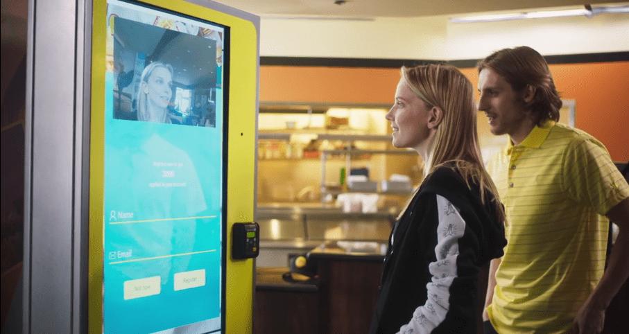 POS solution: A CaliBurger's AI facial recognition kiosk