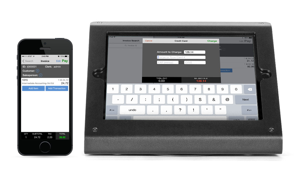 Searching for product information is at fingertips with a mobile POS