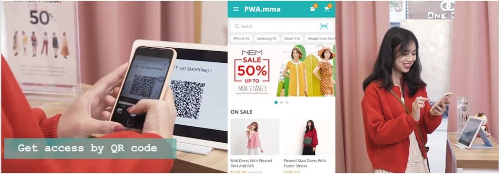 Mobile commerce trends: PWA consumer apps