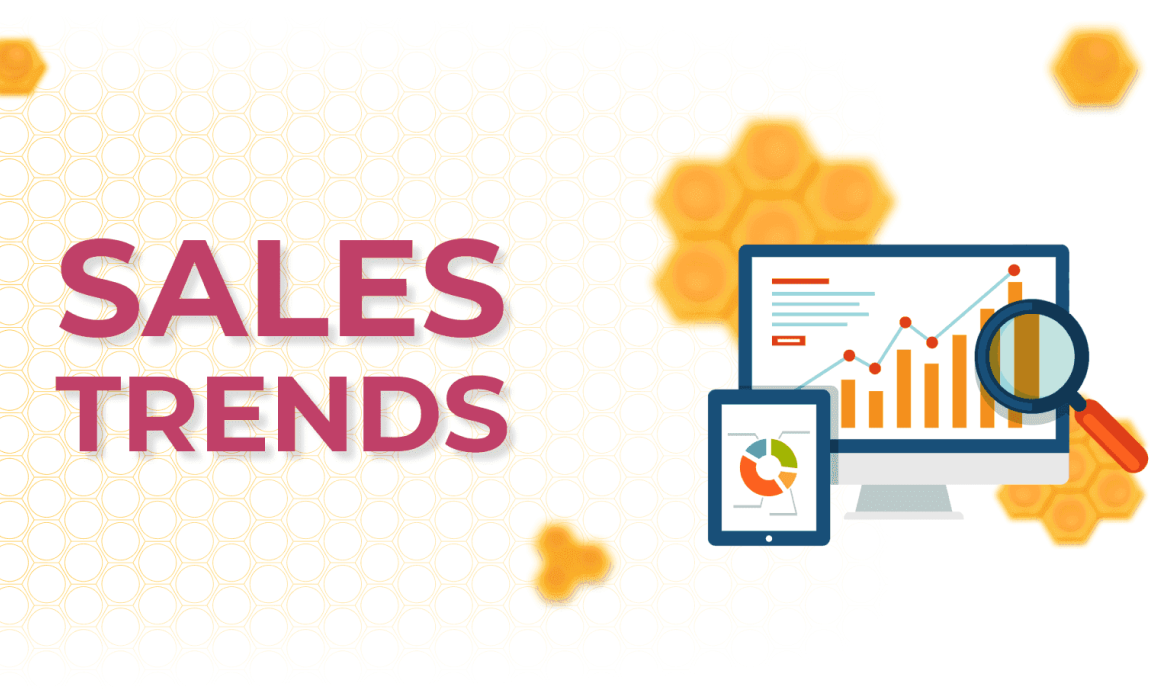 Watch the sales trend