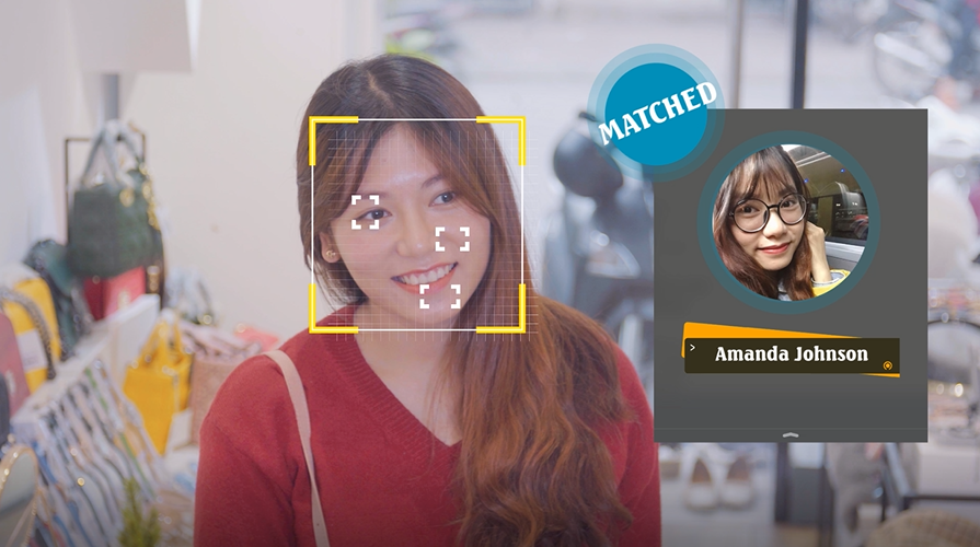 ConnectPOS AI facial recognition