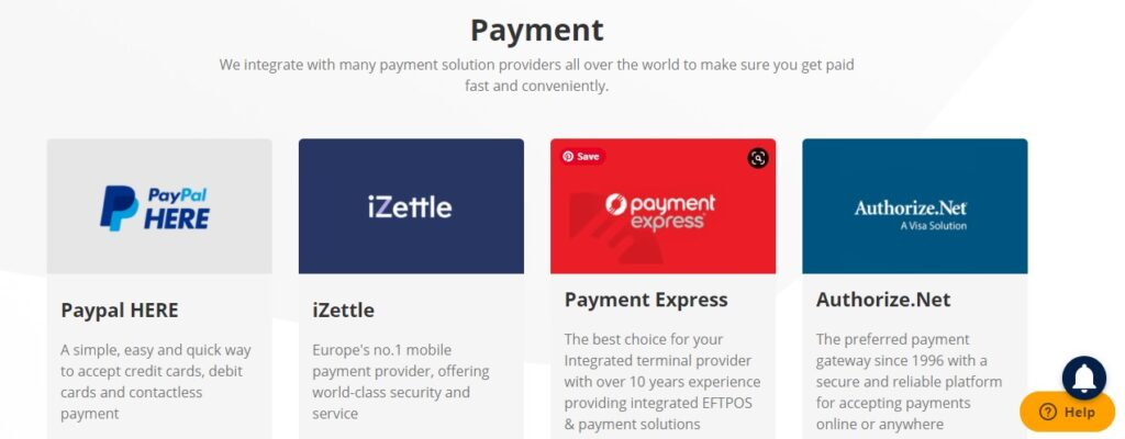 ConnectPOS payment integrate