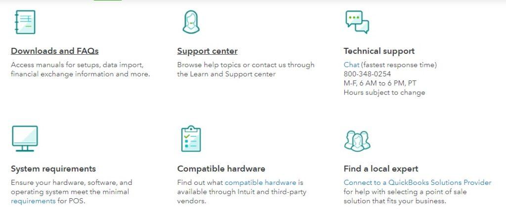 QuickBooks POS customer support