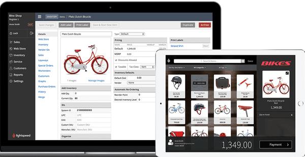 Lightspeed Retail POS iPad app