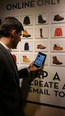 timberland NFC technology