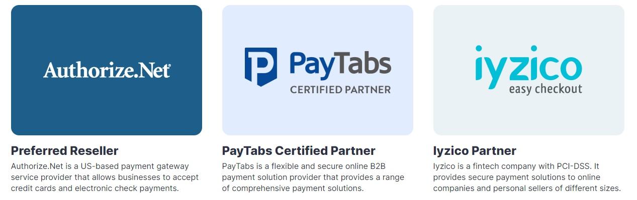 Webkul payment integrations