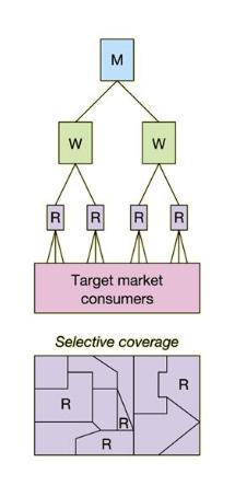 Retail Distribution: selective distribution