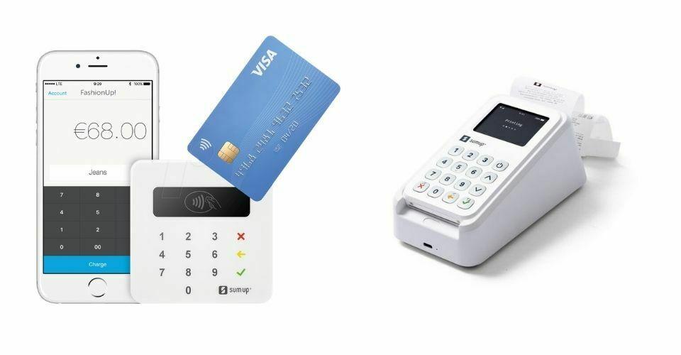 SumUp Air and 3G card readers