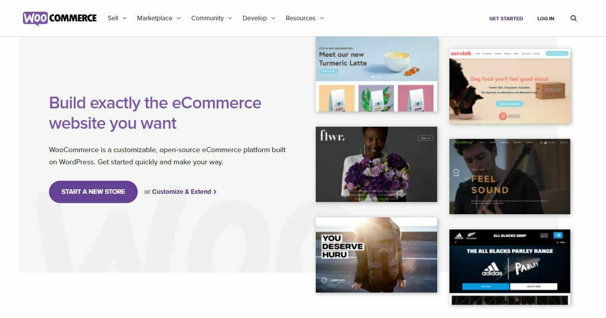WooCommerce Interface