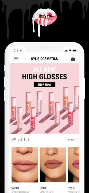 kylie cosmetic app