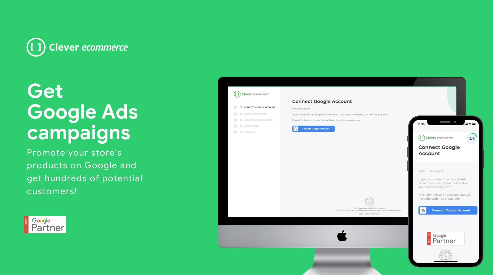 C.E for Google Ads & Shopping