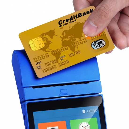 What is a handheld POS terminal?
