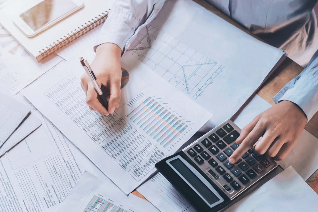 Calculate your finance budget