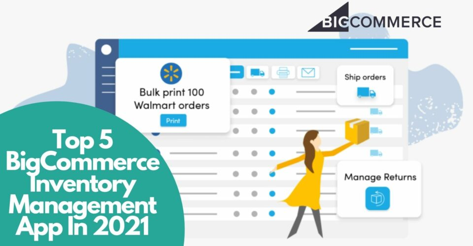 BigCommerce inventory management apps