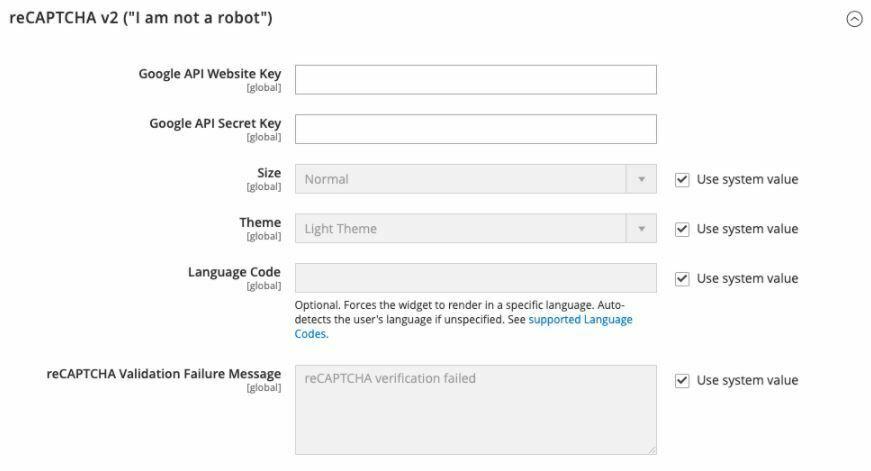 """reCAPTCHA v2 (""""I am not a robot"""")"""